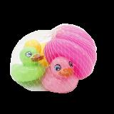 Крошка Я Набор игрушек для ванны «Кря-кря», 4 шт 2634035