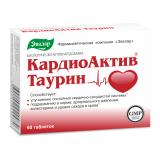 КардиоАктив Таурин 0,6 гр 60 табл
