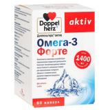 ДОППЕЛЬГЕРЦ  Актив Омега-3 Форте, капс. №60