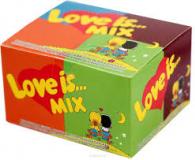 Love is жевательная резинка микс фруктов