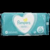 Pampers салфетки Sensitive влажные детские № 52 шт