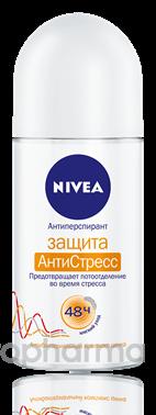 Nivea Роликовый дезодорант женский «Защита АнтиСтресс» 50 мл