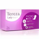 TerezaLady прокладки Micro урологические для женщин № 24 шт