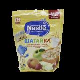 Nestle каша Шагайка 5 злаков яблоко, земляника садовая, персик молочная детская 200 гр