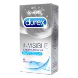 Durex презервативы Invisible Thai № 12 шт