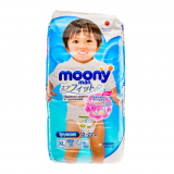 Moony трусики для мальчиков (12-22 кг) № 38 шт