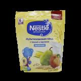 Nestle каша мультизлаковая с грушей и персиком молочная детская 220 гр