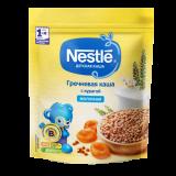 Nestle каша гречневая с курагой молочная детская 220 гр