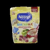Nestle каша Шагайка 5 злаков земляника садовая, яблоко, малина молочная детская 200 гр