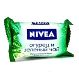 "Nivea Мыло-уход ""Огурец и зеленый чай"" 90гр"