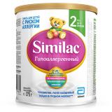 Similac смесь Гипоаллергенный 2 для детей с 6 месяцев 375 гр