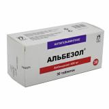 Альбезол 400 мг № 30 табл.