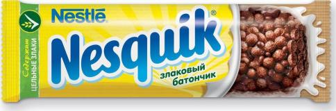 Nestle батончик Nesquik злаковый 23,5 г
