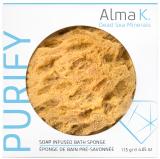 Alma K. губка для мытья с добавлением мыла 115 г