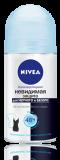 Nivea  дезодорант жен ролик невид.защита д/черн и белог PURE 50мл