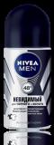 Nivea дезодорант муж ролик невидимый для черного и белого 50мл