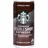 Starbucs кофейный напиток Doubleshot Espresso молочный 200 мл