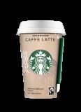 Starbucs кофейный напиток Caffe Latte молочный 220 мл