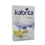 Kabrita каша 7 злаков с бананом 180 г