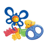 NUK игрушка Ключики, Бабочка развивающая