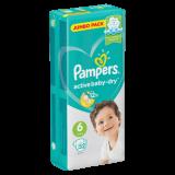Pampers подгузники Active Baby-Dry 6 (13-18) № 52 шт