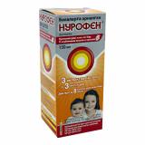 Нурофен (клубника) для детей 150 мл суспензия для приема внутрь