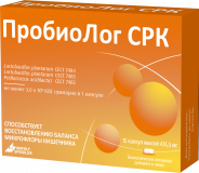 Пробиолог СРК 3,0 млрд. КОЕ № 15 капс