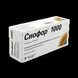 Сиофор 1000 мг № 60 табл