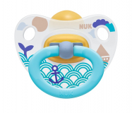 Nuk пустышка Happy Kids Classik  для детей с 0 до 6 месяцев латексная