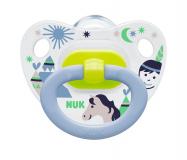 Nuk соска Happy Kids для детей с 0 месяцев силиконовая