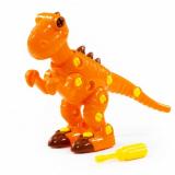 Полесье конструктор-динозавр Тираннозавр 40 элементов в коробке 77158