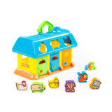 Полесье игрушка домик для зверей в сеточке 9166