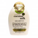 OGX шампунь  питательный с кокосовым молоком 385 мл