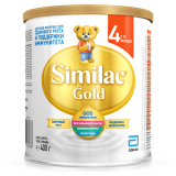 Similac молочная смесь Gold 4 от 12 до 18 мес 400 г