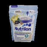Nutrilon каша молочная мультизлаковая банан и черная смородина для детей с 6 месяцев 200 г