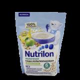 Nutrilon каша молочная мультизлаковая яблоко и банан для детей с 6 месяцев 200 г