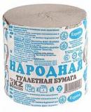 Карина бумага Народная туалетная  № 24 шт