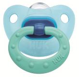 Nuk соска Fashion для детей от 6 до18 месяцев силиконовая голубая