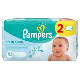 Pampers cалфетки  детские влажные Bady Fresh 128