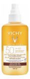 Vichy Capital Soleil двухфазный солнцезащитный спрей активатор загара SPF50 200 мл