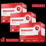 Вобэнзим плюс №200 (комплект из трех упаковок)