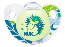 Nuk пустышка Night&Day для детей от 6 до18 месяцев силиконовая