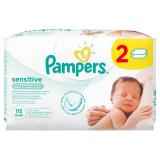 Pampers салфетки детские влажные Sensitive 112