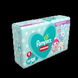 Подгузники–трусики PAMPERS Pants Малышарики, Вес 15+ кг, Размер 6, 46 шт