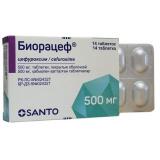 Биорацеф 500 мг № 14 табл