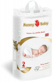 MOMMYBABY подгузники S размер 2 для детей 4-8 кг № 56 шт
