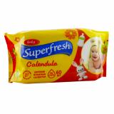 SuperFresh Салфетки влажные  для всей семьи  60шт.15шт/кор