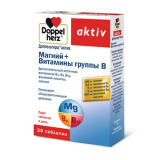 Доппельгерц витал (Актив) магний+витамины группы В №30, табл.