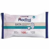 Maditol вата гигроскопическая санитарно-гигиеническая хлопко-льняная в рулоне  100 гр