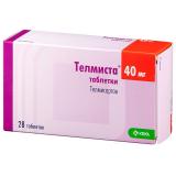 Телмиста 40 мг № 28 табл